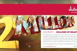 Millions of Relationships - Print Ad - Jubilee Life Insurance