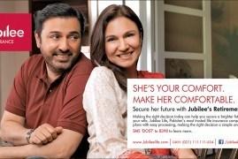 Make Her Comfortable - Jubilee Life Print Ad