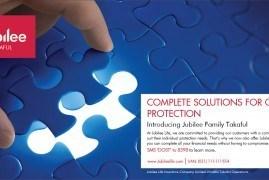 Jubilee Takaful - Print Ad - Jubilee Life Insurance