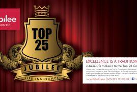 Top 25 companies jubilee insurance banner -2