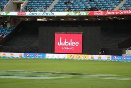 Jubilee ad in PSL match